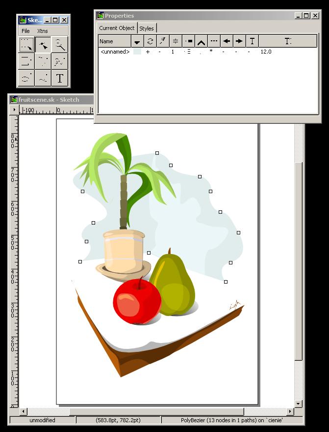 Skencil / Screenshots
