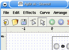 Skencil window in MacOS X and XDarwin